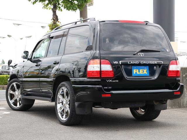 VXリミテッド オールペイントブラック マルチレス MKW22インチAW 社外305タイヤ 後期LOOKヘッドライト&テール ウッドコンビハンドル&シフトノブ 純正ETC(25枚目)