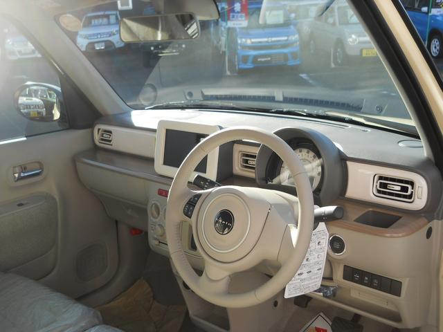 スズキ アルトラパン S 届出済未使用車 全方位モニター用カメラPKG