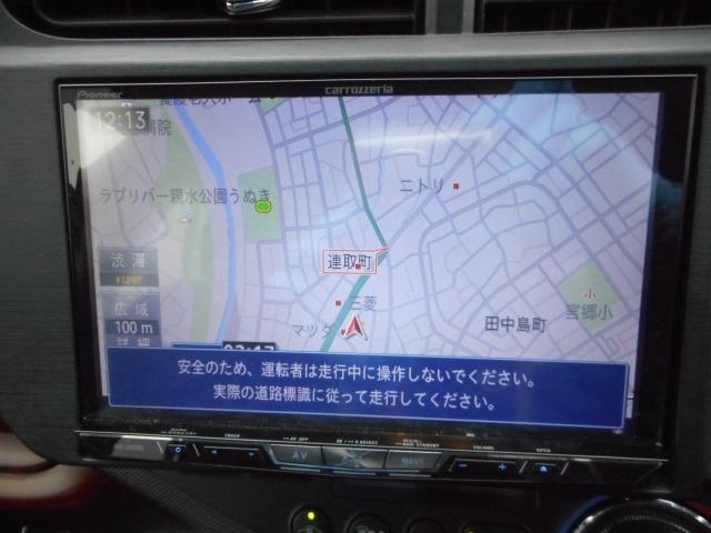トヨタ アクア 1.5 G メモリーナビ ETC アルミ
