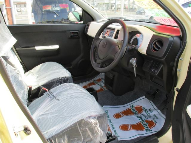 スズキ アルト F 登録済未使用車 純正CDデッキ 盗難防止装置