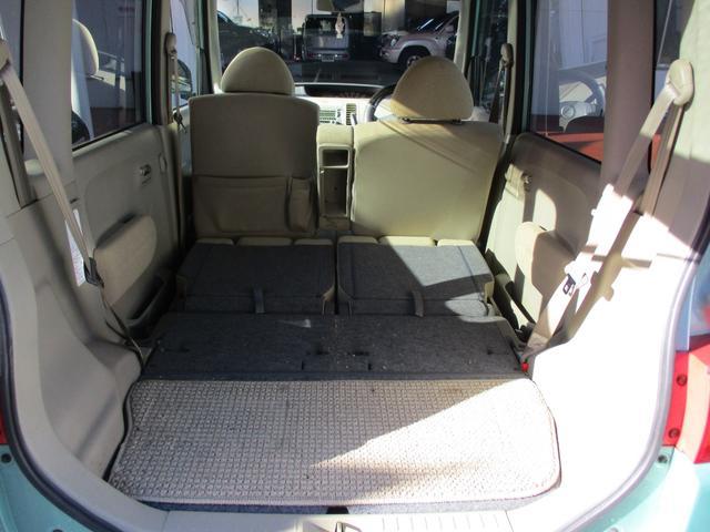ダイハツ タント X ユーザー買取車 キーレス CDMDデッキ