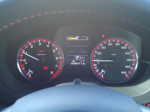 1.6STIスポーツアイサイト 4WD 8インチフルセグナビ バックカメラ レーダークルーズコントロール レザーシート パドルシフト LEDヘッドライト シートヒーター ETC(6枚目)