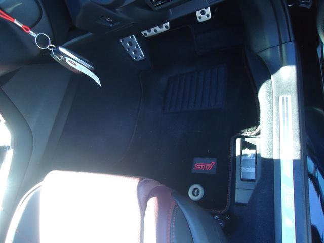 1.6STIスポーツアイサイト 4WD 8インチフルセグナビ バックカメラ レーダークルーズコントロール レザーシート パドルシフト LEDヘッドライト シートヒーター ETC(38枚目)