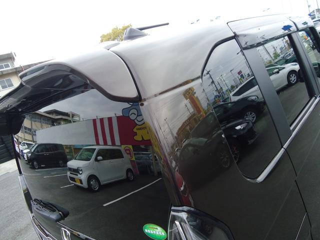 Lターボ ホンダセンシング フルセグインターナビ バックカメラ 両側電動スライドドア レーダークルーズコントロール パドルシフト LEDライト シートヒーター(27枚目)