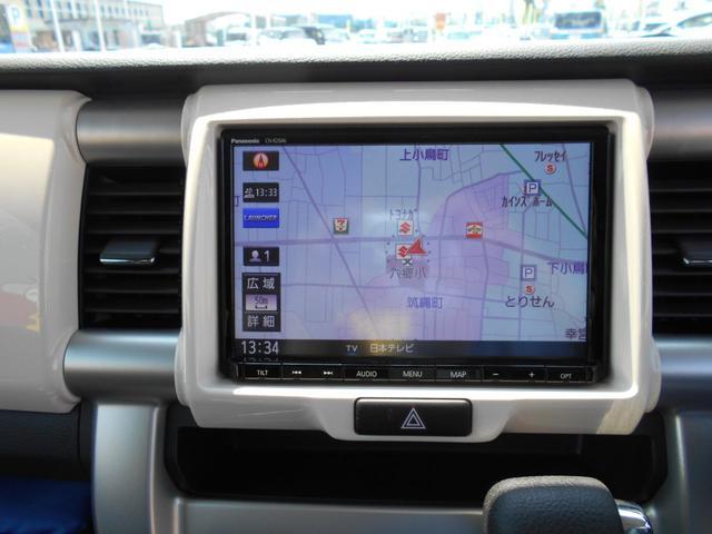 Gターボ ワンオーナー 4WD ターボ 8インチナビ フルセグTV バックカメラ HIDライト インテリキー デュアルカメラブレーキサポート ETC オートエアコン シートヒーター(8枚目)