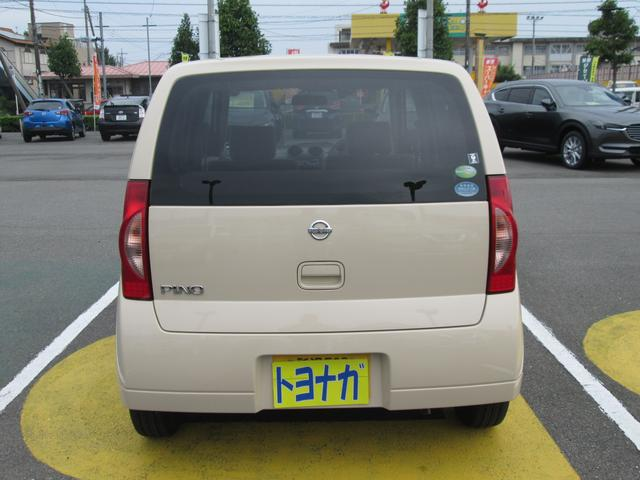 日産 ピノ S 5速マニュアル CDステレオ キーレスエントリー