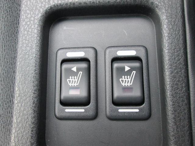 冬にうれしいシートヒーター!エアコンが利く前に乗り込むことが多いドライバーの身体を素早く暖めてくれます!