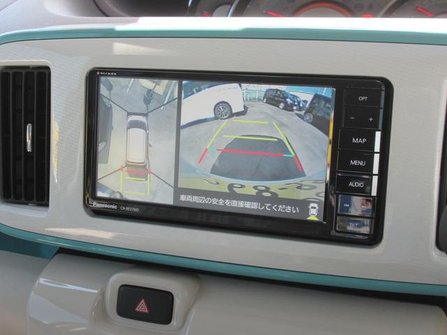 Gメイクアップリミテッド SAIII スマートアシスト3 ナビフルセグTV パノラマモニター 誤発進抑制制御機能 歩行者傷害軽減ボディ SRSエアバッグ 両側電動スライド 届出済未使用車(11枚目)