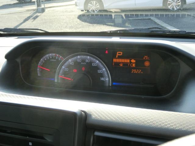 ハイブリッドFX スズキセーフティサポート DSBS 純正CDステレオ スマートキー シートヒーター オートライト 前後誤発信抑制機能 後退時ブレーキサポート 当社試乗車(25枚目)