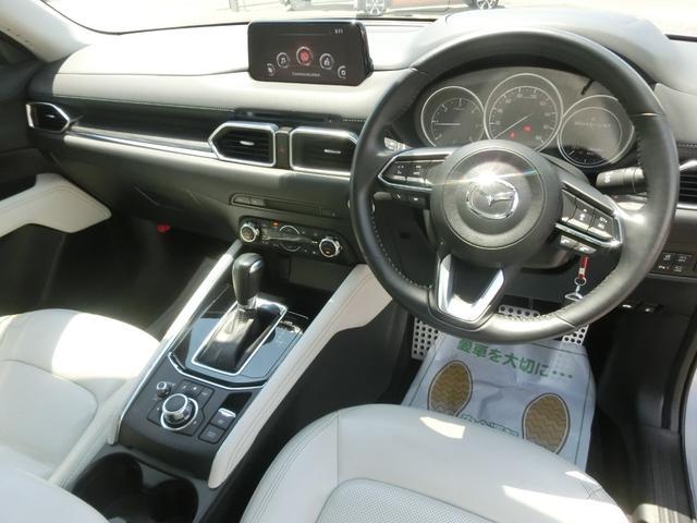 XD Lパッケージ 衝突被害軽減ブレーキ ACC サンルーフ マツダコネクト ナビTV 全方位カメラ 全席シートヒーター ステアリングヒーター コーナーセンサー 19インチアルミ ホワイトレザーシート(28枚目)