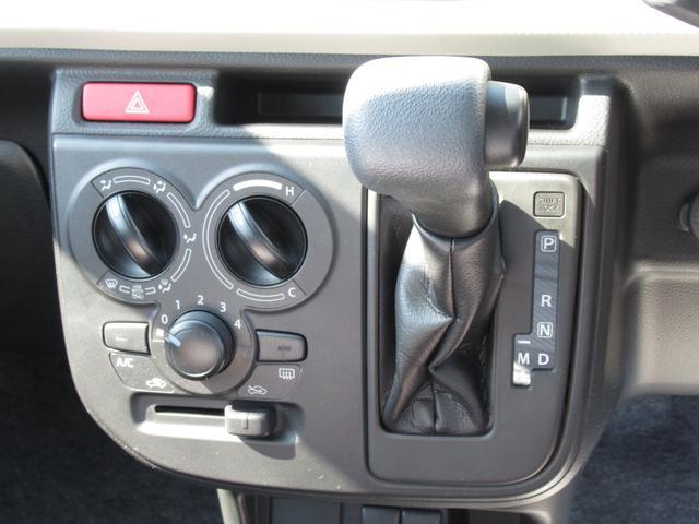 F スズキセーフティサポート装着車 後方ブレーキサポート 前後誤発進抑制機能 キーレスエントリー オートライト 5速オートギアシフト(11枚目)