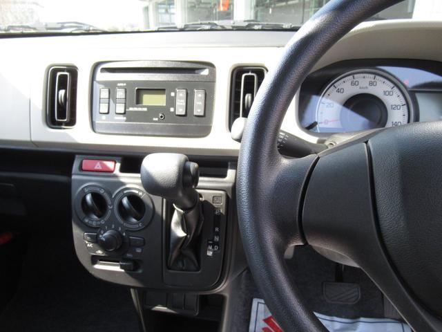F スズキセーフティサポート装着車 後方ブレーキサポート 前後誤発進抑制機能 キーレスエントリー オートライト 5速オートギアシフト(69枚目)