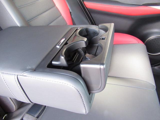 NX300 Fスポーツ 地デジフルセグ純正ナビ 後期型 ETC2.0 パノラマビューカメラ 専用18インチアルミ パワーバックドア 黒赤コンビレザーシート LEDシーケンシャルウインカー(66枚目)