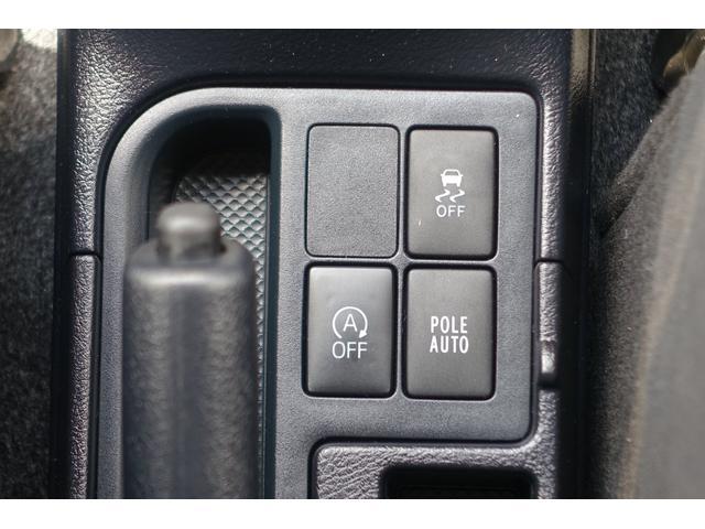 トラクションコントロールやアイドリングストップの作動を止めたいときのスイッチです