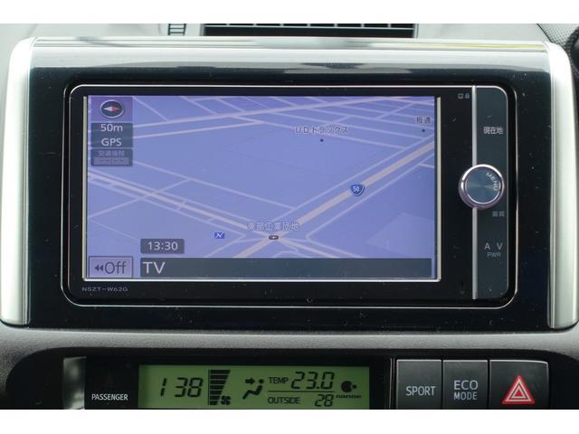 とっても使い易い純正SDメモリーナビ付きです。フルセグTV+DVDが視聴できます。