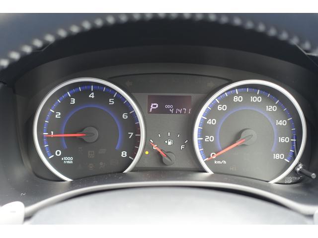メーターはスッキリとしたデザインで、とても見やすく、安全運転のお役に立ちます。
