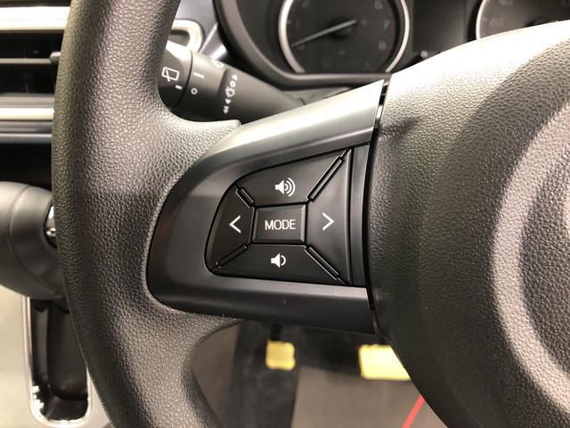 ステアリングスイッチ搭載!ハンドルから手を離さなくても手元のスイッチで音量調節や選曲操作ができます!視線をそらさず操作が出来て大変便利です♪