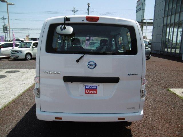 日産 e-NV200バン GX 2人乗り  EV専用ナビ バックビューモニター付