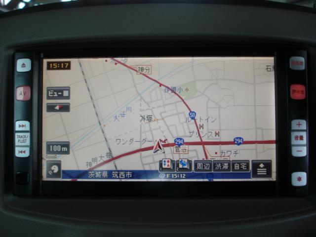 日産 キューブ 15X 純正HDDナビ 地デジTV