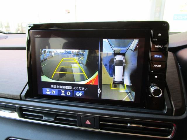 アブソルート 10インチプレミアムインターナビ フロントアッパーグリル 純正ドアバイザー&フロアマット ETC2.0 マルチビューカメラシステム HDMI入力端子 ジェスチャーコントロールパワースライドドア(20枚目)