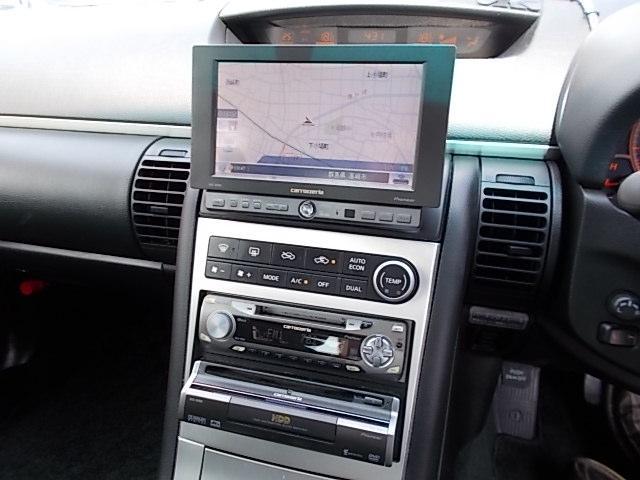 日産 スカイライン 250GT HDDナビ インテリキー 外マフラー