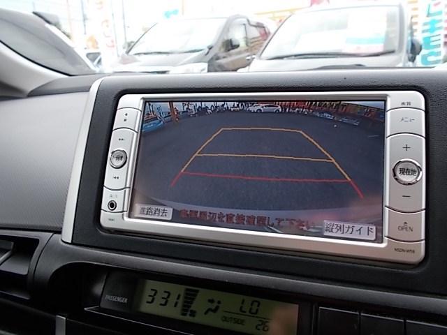 バックモニター付。路肩や低い障害物を見落とす事もなくなりますし、ギリギリの駐車でも安心して運転できますね。☆お問い合わせはお気軽にフリーダイヤル0120-03-1190 ☆
