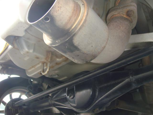 スズキ ワゴンR RRリミテッド 4WD 社外マフラー 社外テール