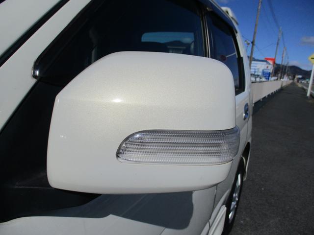 カスタムX 4WD/ターボ/キーフリー/エアロ/ナビテレビ/ドアミラーウインカー/ABS(24枚目)