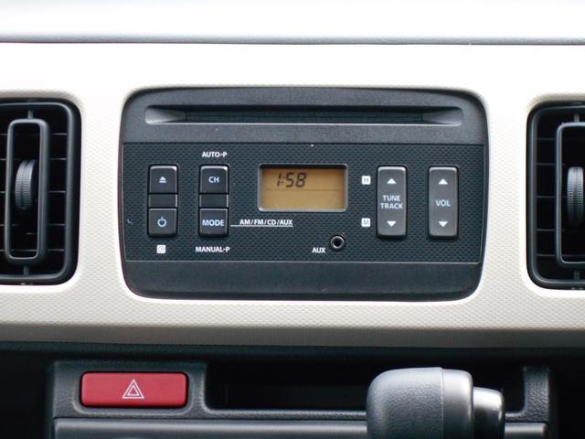 CD、ラジオを聴くことができます。当たり前の装備かもしれませんが、なくては困るドライブの必需品ですよね!