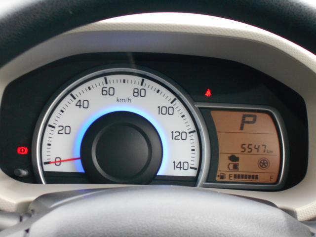 走行距離5,547キロです。見やすいメーターです。