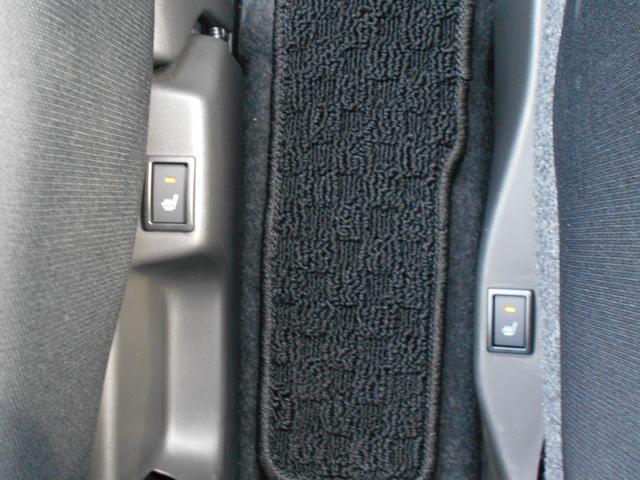 運転席・助手席シートヒーター。ヒート表皮の下に断熱線を配置しシートを暖めます。