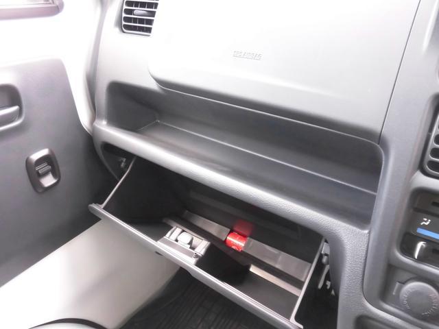 グローブボックス 車検証等保管できます