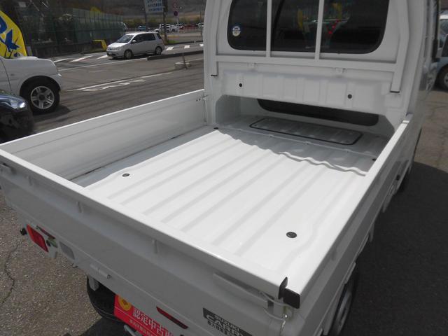 使いやすい荷台と快適sぷびで作業が性が1段とアップ