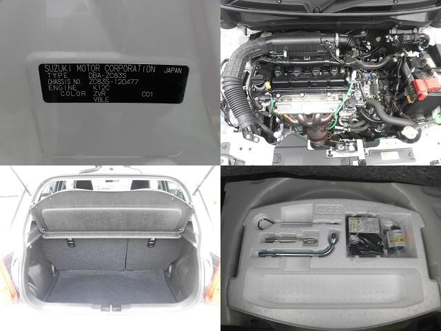 シートアレンジ パンク修理キット エンジンルーム コーションプレート