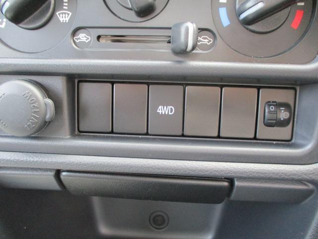 4WDの切り替えはこちらをプッシュ