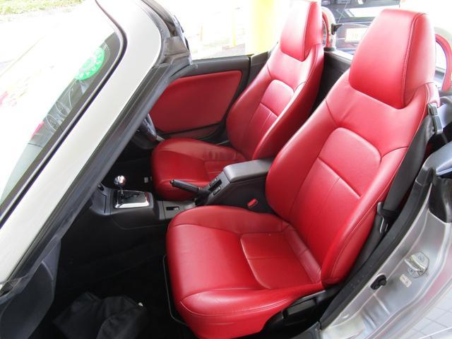 アクティブトップ アカ革シート シートヒーター HIDヘッドライト ETC キーレス CDコンポ(15枚目)