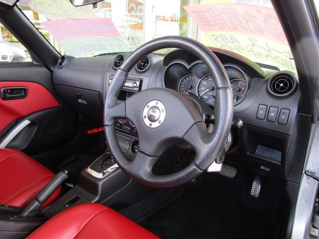 アクティブトップ アカ革シート シートヒーター HIDヘッドライト ETC キーレス CDコンポ(16枚目)