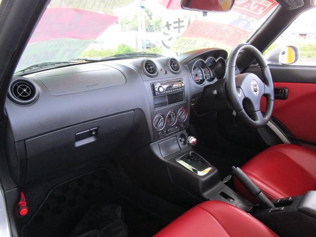 アクティブトップ アカ革シート シートヒーター HIDヘッドライト ETC キーレス CDコンポ(17枚目)