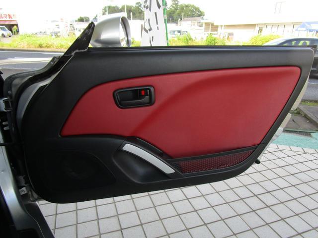 アクティブトップ アカ革シート シートヒーター HIDヘッドライト ETC キーレス CDコンポ(26枚目)