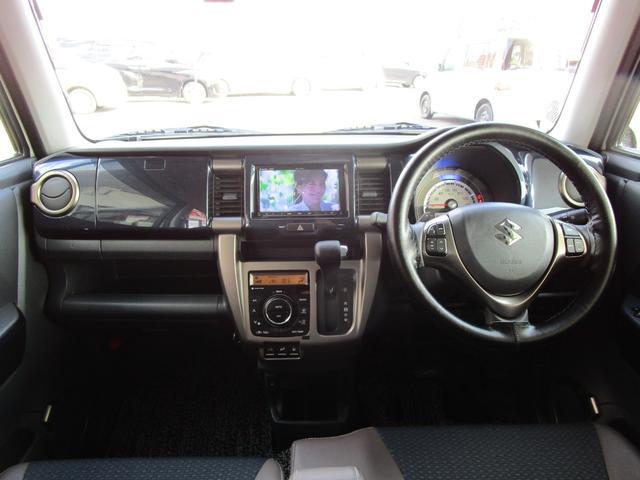 JスタイルIIIターボ 4WD 社外SDナビ・フルセグTV バックカメラ ETC ワンオーナー 禁煙車 ブラックルーフ(9枚目)