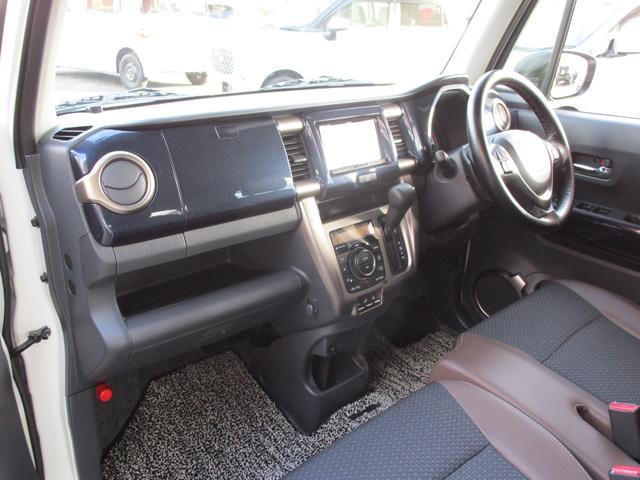 JスタイルIIIターボ 4WD 社外SDナビ・フルセグTV バックカメラ ETC ワンオーナー 禁煙車 ブラックルーフ(25枚目)
