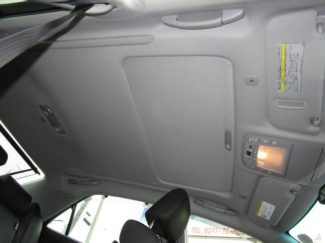 ベースグレード HDDナビ・フルセグTV バックカメラ ETC 本革シート サンルーフ プリクラッシュセーフティ 禁煙車(23枚目)