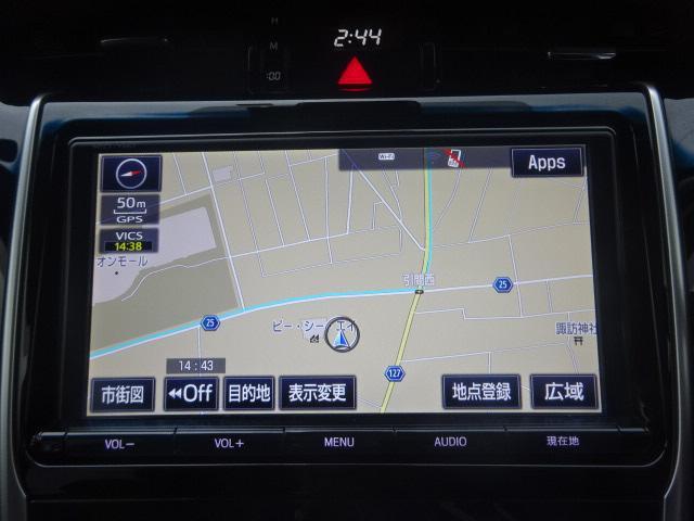 プレミアム メタルアンドレザーP SR SDナビ1オーナー(4枚目)