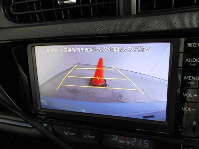 トヨタ アクア S ナビ・バックモニター・ETC・BT・スマートキー