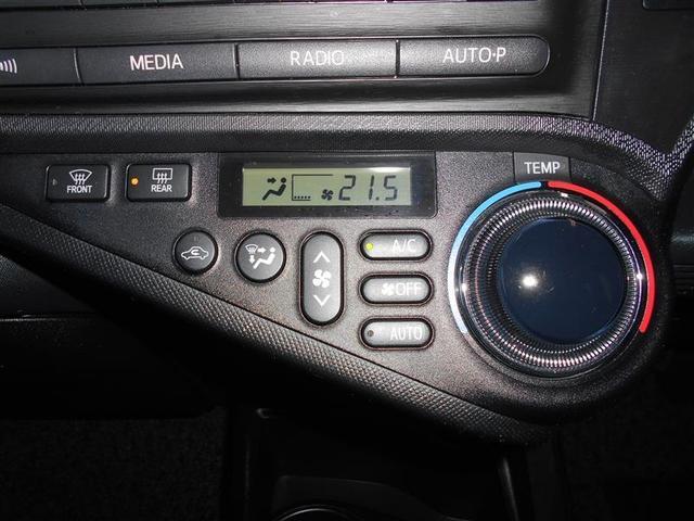 オートエアコン機能なので設定した温度を自動でキープできます。