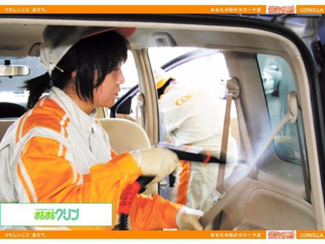 シート・天井・インパネ・トランクまで、洗剤を使ってしっかりクリーニング。
