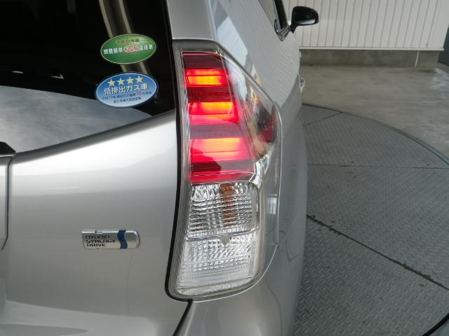 トヨタ プリウスアルファ S LEDライト スマートキー ETC 元当社社用車