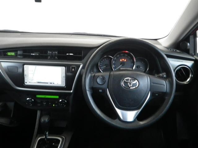 トヨタ オーリス 150X ワンオーナー スマートキー 純正メモリーナビ
