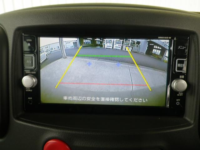 日産 キューブ 15X Vセレクション 純正SDナビ バックカメラ