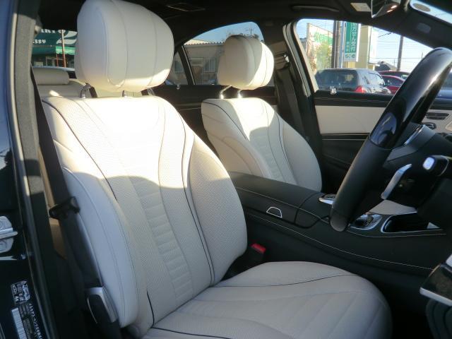 S400d AMGラインプラス レーダーセーフティ ナビゲーションPK パノラミックルーフ AMG20インチアルミ ディストロニックプラス ヘッドアップディスプレイ ブルメスタ ホワイトレザーシート(9枚目)